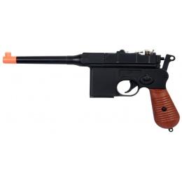 UK ARMS Airsoft M32 Series Spring Pistol w/ Lanyard - BLACK
