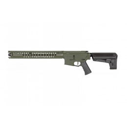 Krytac Airsoft Licensed War Sport LVOA-C M4 Carbine AEG - FLAT GREEN