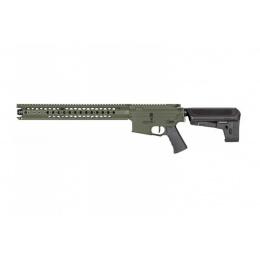 Krytac Airsoft Licensed War Sport LVOA-C M4 Carbine AEG - FLAT GREEN