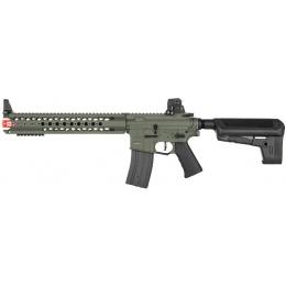 Krytac Licensed Airsoft Warsport M4 LVOA-S AEG Rifle - FOLIAGE GREEN