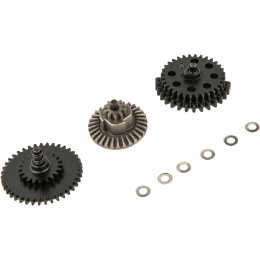 Krytac Airsoft Steel Alloy Enhanced AEG Torque Gear Set - 18:1 Ratio
