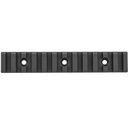 Krytac Airsoft LVOA Tactical 12 Slot Long Rail Section AEG - BLACK
