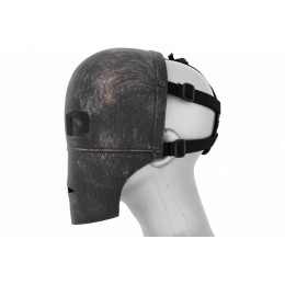 AMA Airsoft Tactical Iron Man MK1 Wire Mesh Mask - BLACK