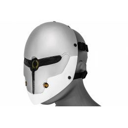 UK Arms Airsoft Gray Fox Wire Mesh Full Face Mask