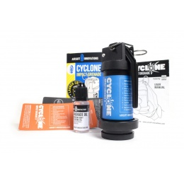 Airsoft Innovations Cyclone Impact Grenade and Accessories - BLUE