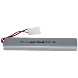 UK ARMS M83A2 Series 7.2V NiCD AA500 mAh Battery - SILVER