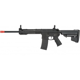 King Arms BRO M4 Fallout 15 Urban Airsoft AEG Rifle - BLACK