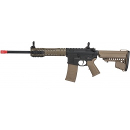 King Arms BRO M4 Fallout 15 Urban Airsoft AEG Rifle - DARK EARTH