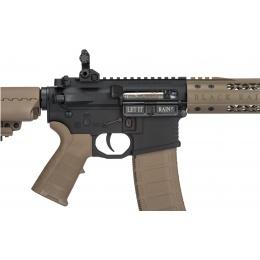 King Arms BRO M4 Fallout 15 Urban Airsoft AEG Rifle - DARK EARTH