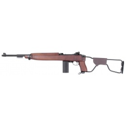 King Arms M1 Para Carbine Gas Blowback Airsoft Rifle - WOOD