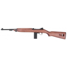 King Arms M1 Carbine CO2 GBBR Airsoft Rifle - REAL WOOD