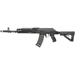 G&G Combat Airsoft Full Metal RK74-T AEG Rifle - BLACK