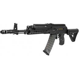 G&G Combat Airsoft Full Metal RK74-T AEG Rifle - BLACK