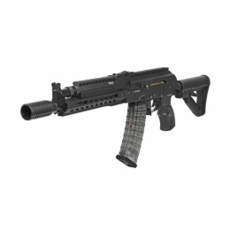 G&G Combat Airsoft Full Metal RK74-E AEG Rifle - BLACK