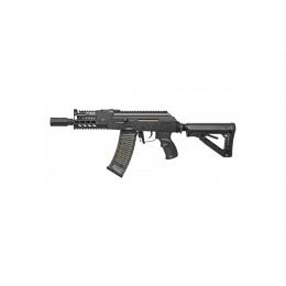 G&G Combat Airsoft Full Metal RK74-CQB AEG Rifle - BLACK