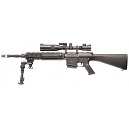 G&G Combat Airsoft Metal GR25 SPR AEG Sniper Rifle - BLACK