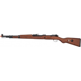 G&G Combat CO2 Full Metal G980 KAR 98 Airsoft Rifle - REAL WOOD