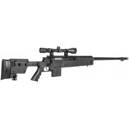 WellFire Airsoft VSR-10 Bolt Action Rifle w/ Scope - BLACK