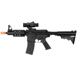 UK Arms D2806 M4 CQB RIS Auto Electric Rifle - BLACK