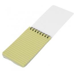 Lancer Tactical CA-5018 All Weather Mini Flip Notepad - BLACK