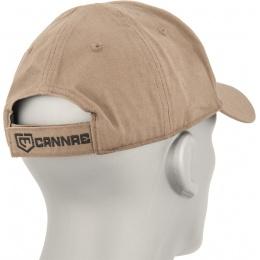 Cannae Pro Gear Logo Ball Soft Cotton Flexible Cap - COYOTE