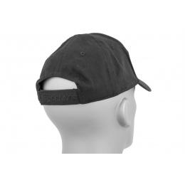 Cannae Patch Field Ball Soft Cotton Flexible Cap - BLACK