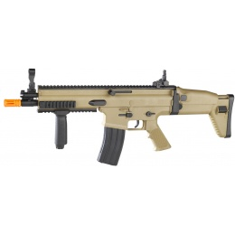 Cybergun FN Herstal SCAR-L Spring Powered Airsoft Rifle - TAN