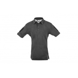 Cannae Short Sleeve Operator Tactical Polo Shirt - BLACK