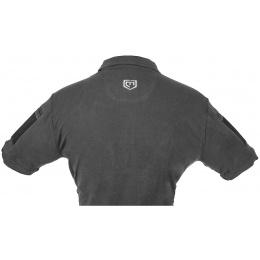 Cannae Short Sleeve Operator Tactical Polo Shirt - BLACK