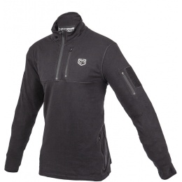 Cannae Tactical Rig Polyester Fleece Pullover - BLACK
