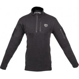 Cannae Tactical Rig Polyester Fleece Pullover - BLACK