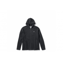 Cannae Battle Ready Tactical Elastic Hoodie - BLACK - LARGE