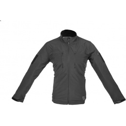Cannae All-Weather Shield Soft Shell Jacket - BLACK - SMALL