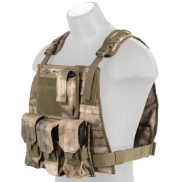Lancer Tactical Ballistic 600D Polyester Tactical Vest (AT-FG)