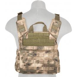 Lancer Tactical MOLLE Speed Attack Plate Carrier Vest - AT-FG
