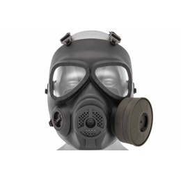 UK Arms Airsoft Dummy Anti-Fog Tactical Gas Mask - OD GREEN