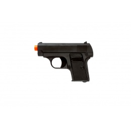 UK Arms Airsoft G1 Metal Spring Compact Pistol - BLACK