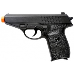 UK Arms Airsoft G3 230 German Compact Metal Spring Pistol - BLACK