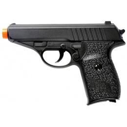 UK Arms Airsoft G3 230 German Compact Metal Spring Pistol - BLACK