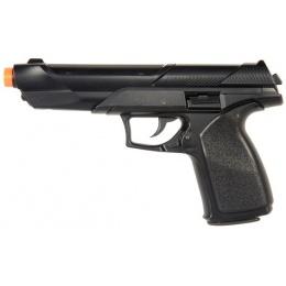 UK Arms Airsoft HA125 Premium Spring Pistol - BLACK