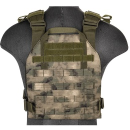 Lancer Tactical Polyester QR Lightweight Plate Carrier - FOLIAGE