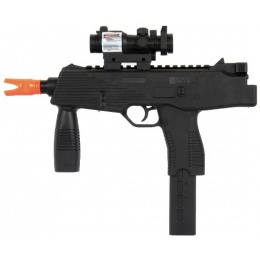 UK Arms Airsoft M194 Spring Pistol w/ Laser and Light - BLACK