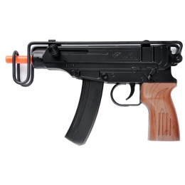 UK Arms Airsoft M37F Scorpion Compact Spring Rifle - BLACK