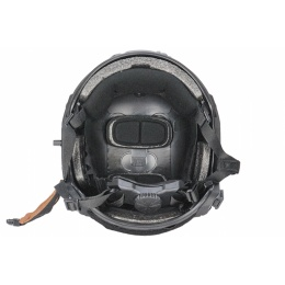 Lancer Tactical Airsoft Maritime Tactical Helmet ABS L/XL - BLACK
