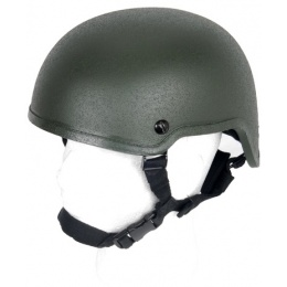 Lancer Tactical Airsoft MICH 2001 Tactical Helmet - OLIVE DRAB