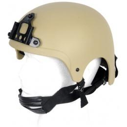 Lancer Tactical Airsoft Tactical IBH Helmet - TAN