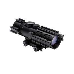NcStar Tri Rail Series 2-7x32 P4 Sniper Scope w/ Weaver Mount - BLACK