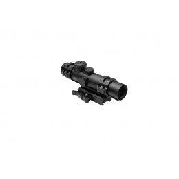 NcStar XRS 2-7x32 Illuminated Scope w/ Modular Scope Rings - BLACK