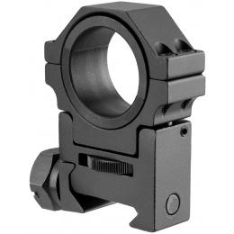 NcStar Adjustable Height 30mm Mount Ring - BLACK