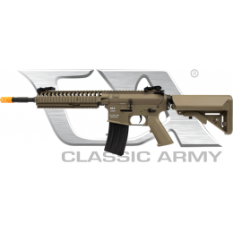 Classic Army CA4A1 Polymer EC-2 Airsoft AEG Rifle - DARK EARTH